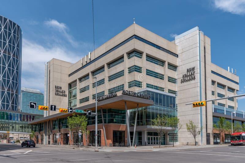 Bogen-Tal-College in Calgary Alberta stockfotografie