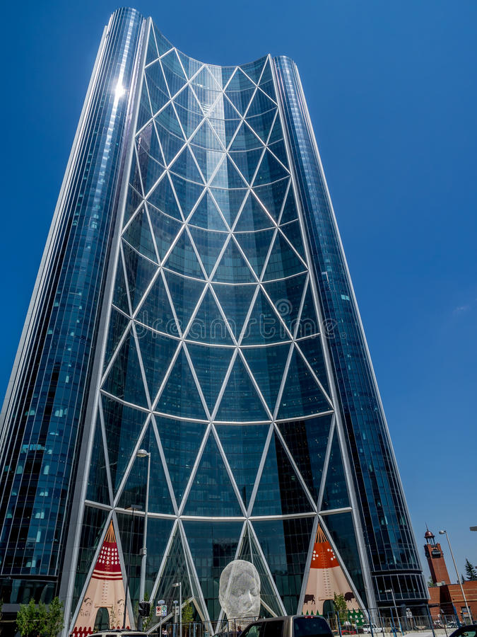 Bogen-Turm während des Ansturms lizenzfreies stockfoto