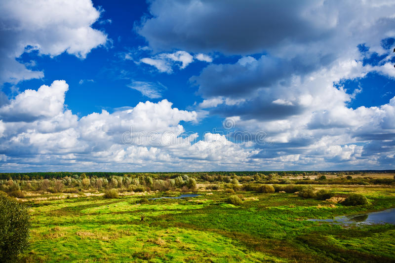 Download Boggy district stock photo. Image of scenics, cloud, reflection - 13146244