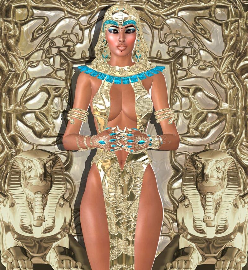 Bogini światło royalty ilustracja
