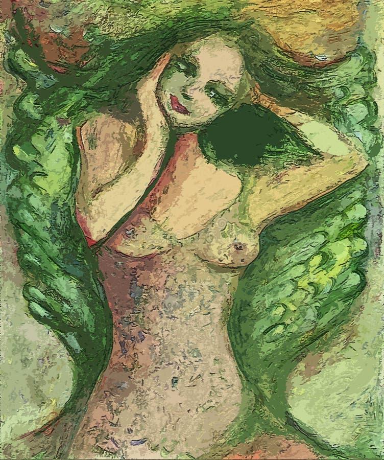 bogini ilustracja wektor