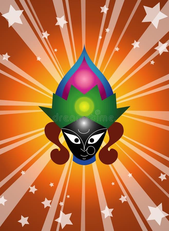 bogini hindusi ilustracja wektor