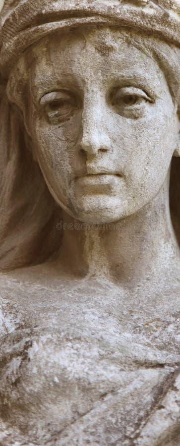 Bogini miłości Aphrodite (Wenus czerep) () zdjęcia stock