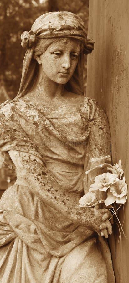 Bogini miłości Aphrodite (Wenus rocznika wizerunek) () fotografia stock