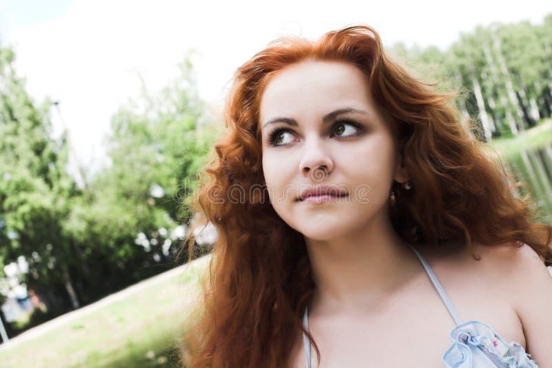boginki głowiasta jeziorna czerwień zdjęcia royalty free