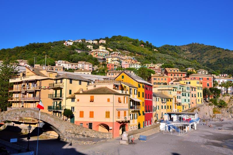 Bogliasco Γένοβα Ιταλία στοκ φωτογραφία με δικαίωμα ελεύθερης χρήσης
