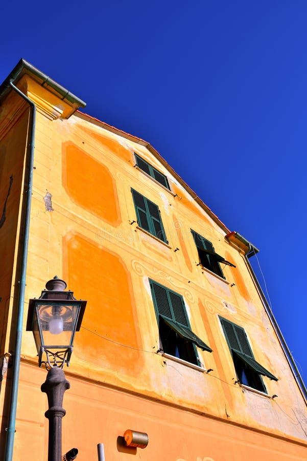 Bogliasco Γένοβα Ιταλία στοκ φωτογραφίες