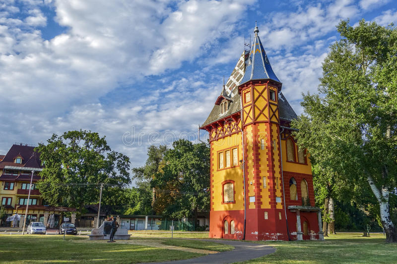 Bogojvar castle on Palic royalty free stock images