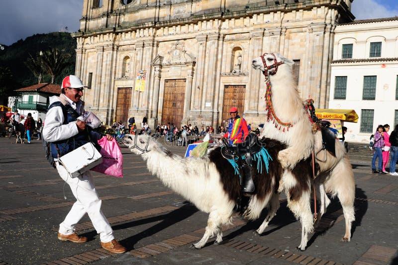 Bogotá - Colômbia fotografia de stock