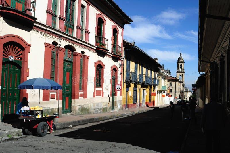 Bogotá - La Candelaria foto de stock