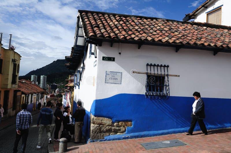 Bogotá - La Candelaria fotos de stock