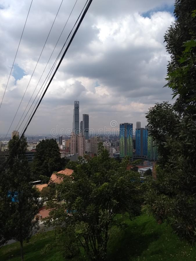 Bogotá stad royalty-vrije stock afbeelding