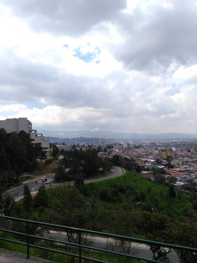 Bogotá stad stock foto