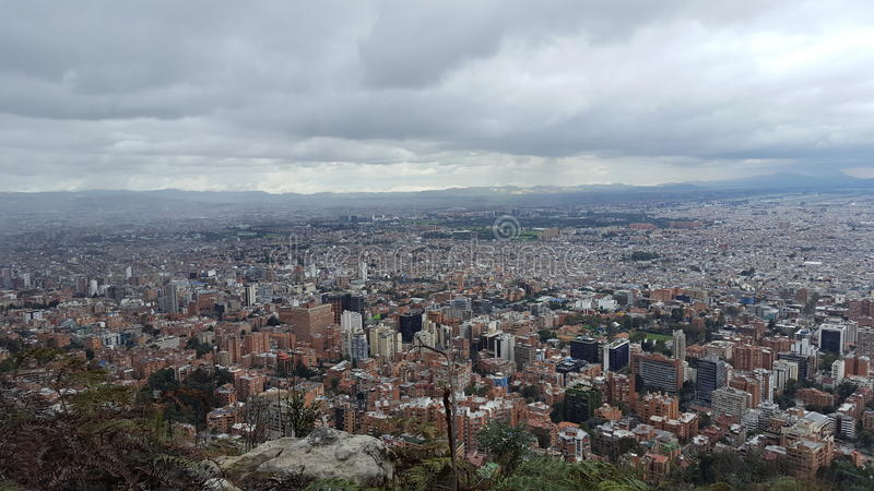 BogotÃ-¡ Stadt lizenzfreies stockbild