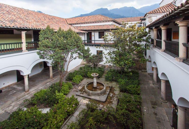 bogota casa colombia de la moneda royaltyfri bild