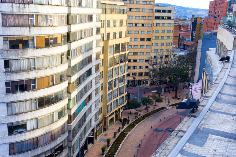Bogota City Center View royalty free stock images