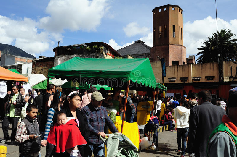 Bogota - Colombia stock fotografie