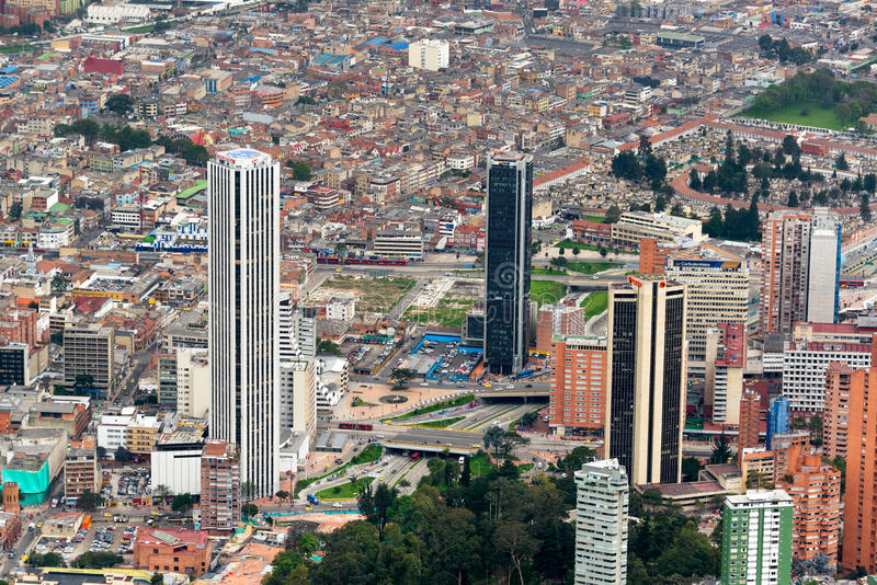 Bogota du centre, Colombie photographie stock libre de droits