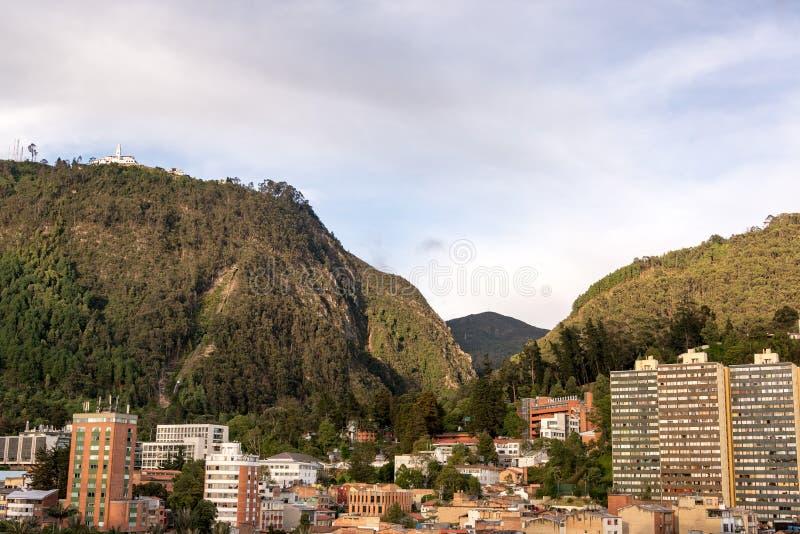 Bogota i Andes Góry zdjęcia stock