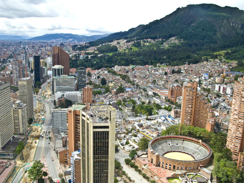 Bogota, Kolumbien stockfotos