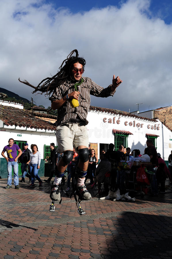 Download Bogota - La Candelaria editorial photo. Image of monument - 25331171