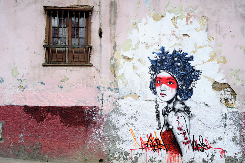 Bogota - La Candelaria stock photography