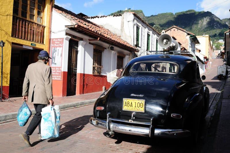 Bogota - La Candelaria stock images