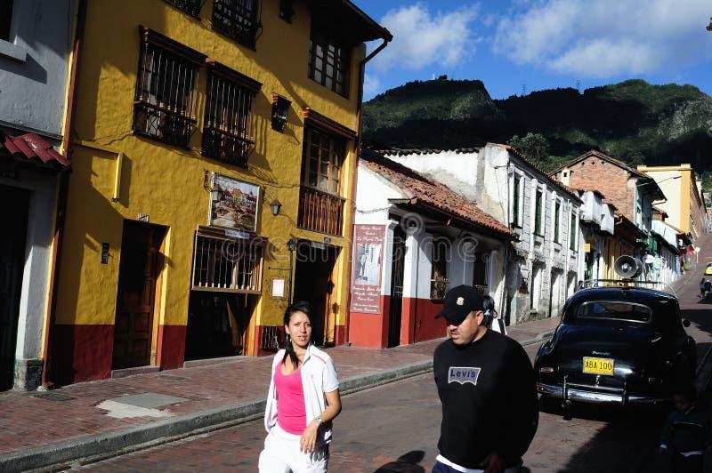 Bogota - La Candelaria stock fotografie