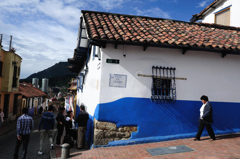 Bogota - La Candelaria stock photos