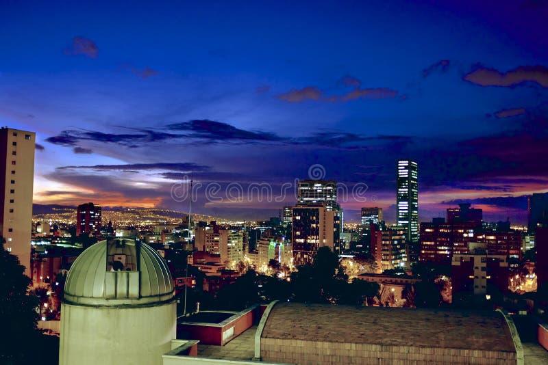 Bogota landskap arkivfoton