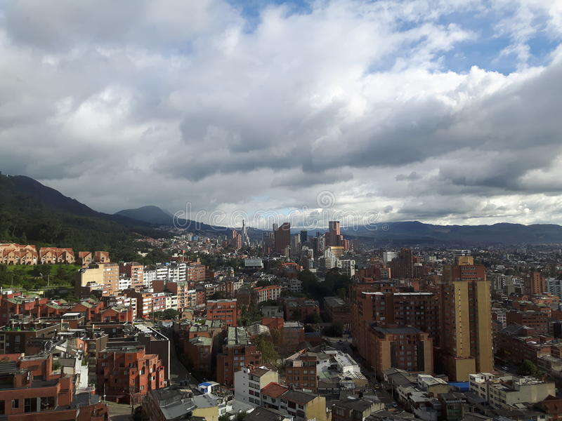 Bogota-Stadt stockbild