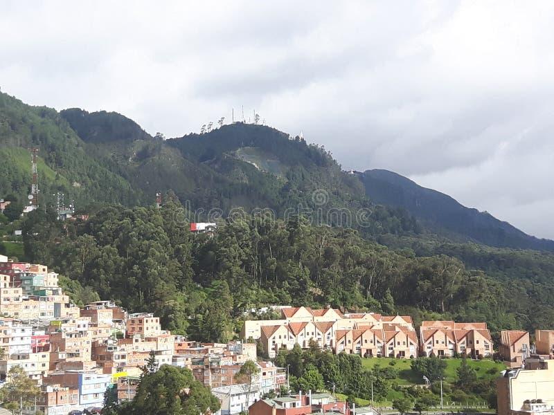 Bogota-Stadt lizenzfreies stockbild
