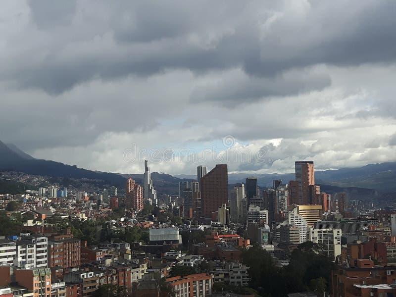 Bogota-Stadt stockbilder