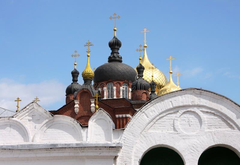 Bogoyavlensky female monastery royalty free stock photography