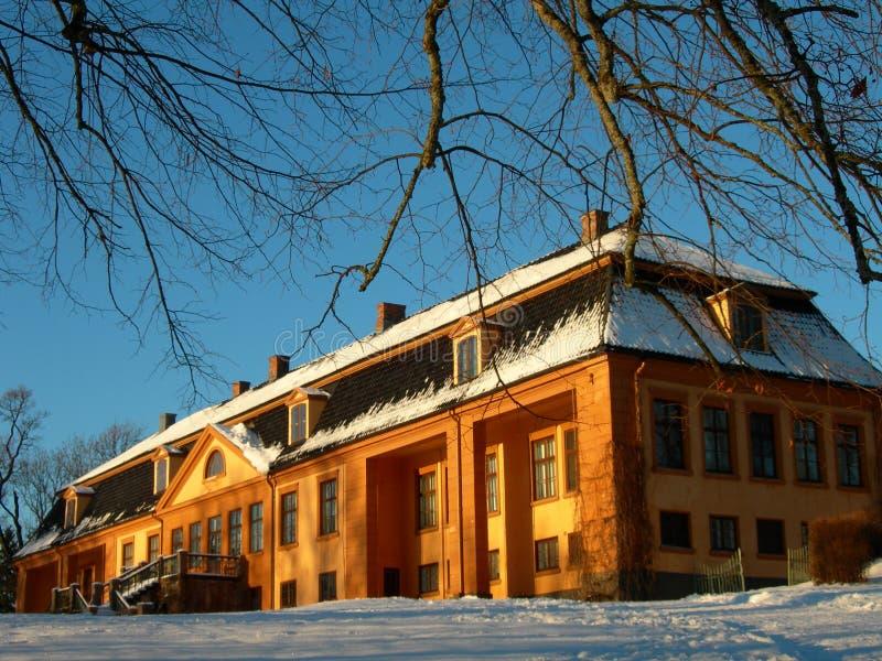 Bogstad Landsitz stockfotos