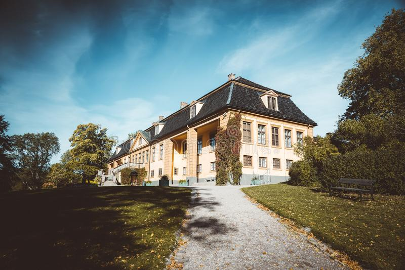 Bogstad społeczeństwa gospodarstwo rolne w Oslo zdjęcia royalty free