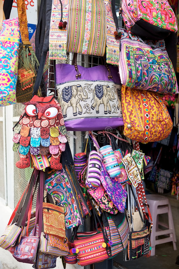 Bogyoke Aung San marknad, Yangon, Myaanmar royaltyfri bild