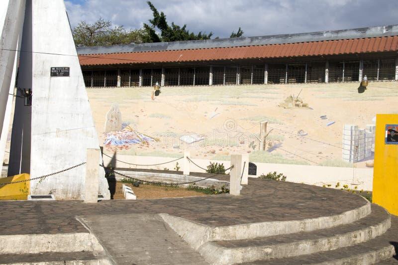bohaterów Leon męczenników malowidła ściennego Nicaragua park fotografia stock