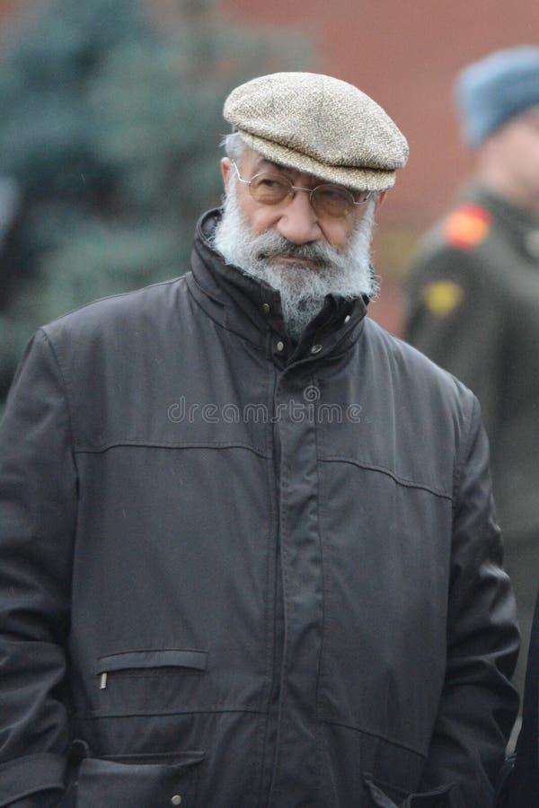 Bohater sowieci i bohater federacja rosyjska Artur Chilingarov - zjednoczenie obrazy royalty free