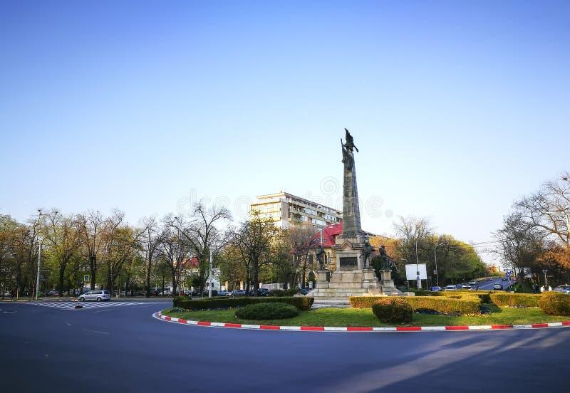Bohaterzy Pomnikowi w Ploiesti mieście, Rumunia zdjęcie stock