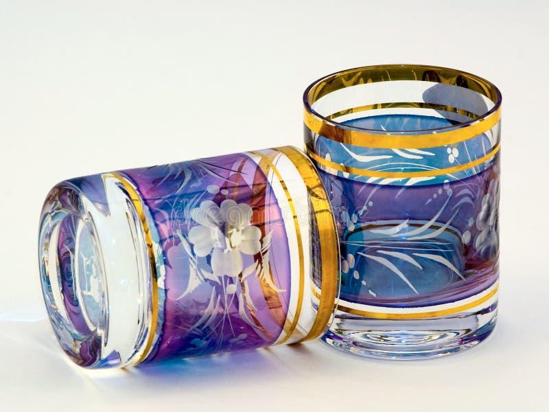 Boheems glas stock afbeeldingen