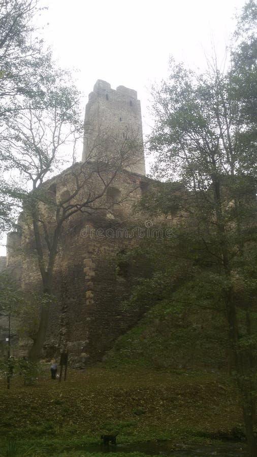 Boheems kasteel stock foto's