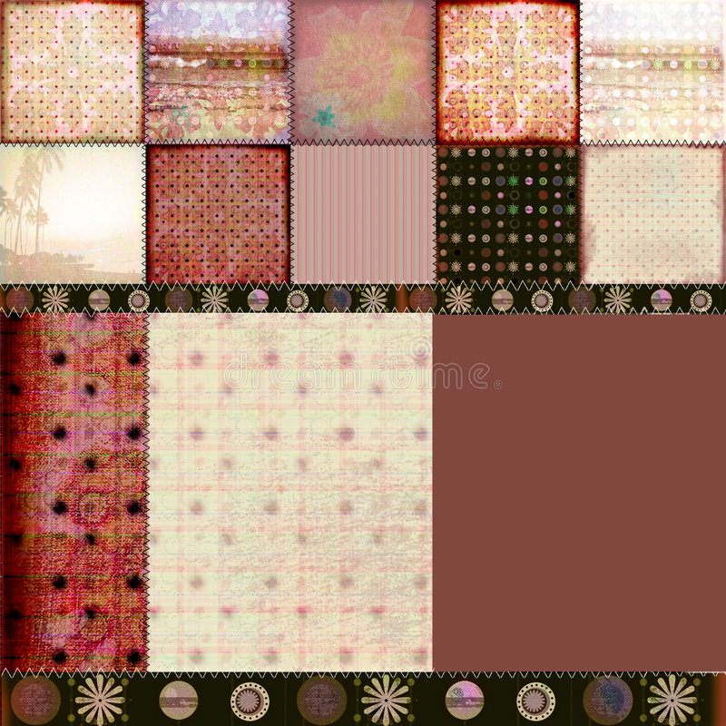 Download Bohemian Tapestry 2 stock photo. Image of montage, texture - 264664