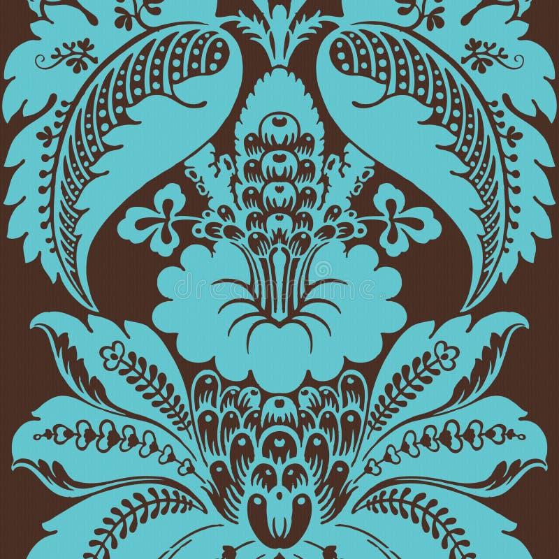Bohemio gitano floral cobarde   stock de ilustración