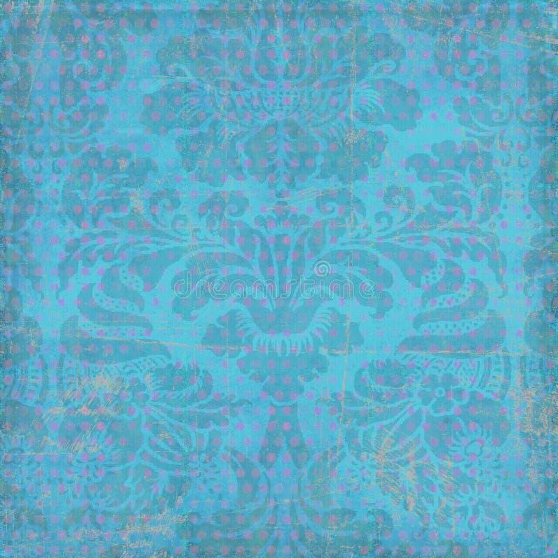 bohemisk blom- zigensk stil för bakgrund royaltyfri bild