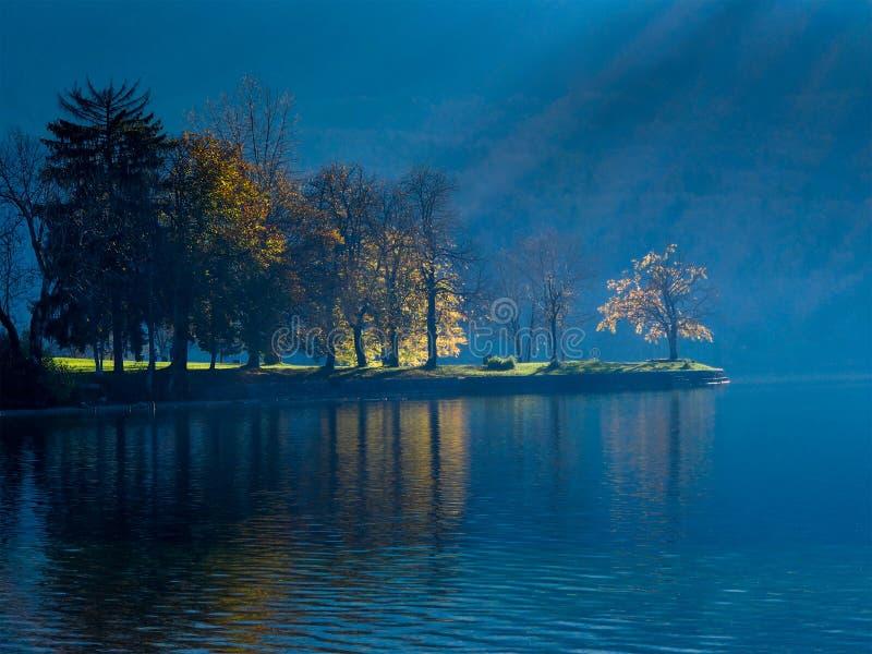 bohinj湖国家公园triglav 免版税库存图片