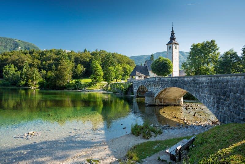 Bohinj, Slowenien stockfoto