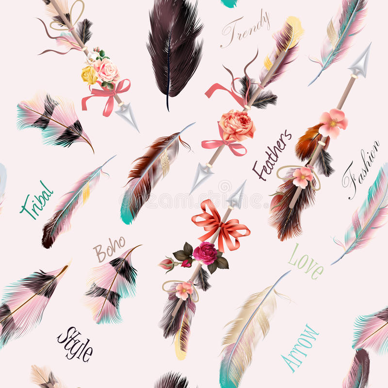 Free Boho Fashion Pattern From Vector Decorative Elements Royalty Free Stock Photos - 78849098