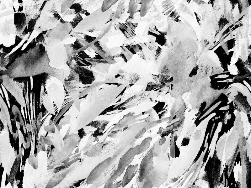 Boho kaleidoscope abstract seamless pattern. stock illustration
