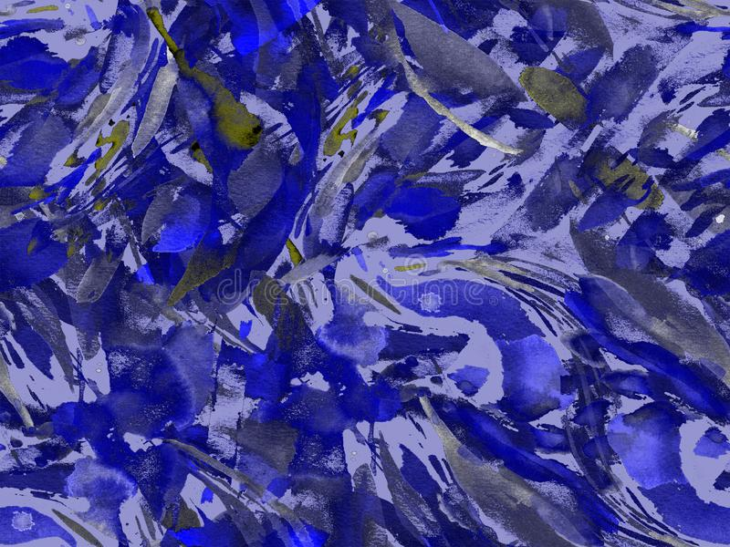 Boho kaleidoscope abstract seamless pattern. royalty free stock photos
